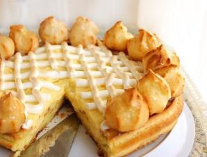 Торт из заварного теста - фото шаг 6