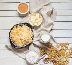 Макароны в сырном соусе - фото шаг 1
