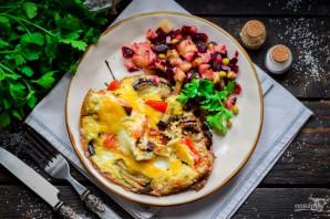 Баклажаны с яйцом и помидорами - фото шаг 6