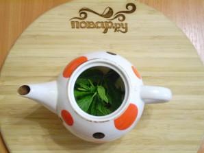Чай с мятой для похудения - фото шаг 2