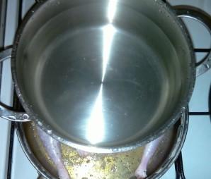 Цыпленок на сковороде - фото шаг 4