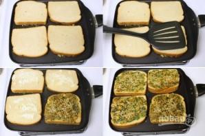Тосты со шпинатом - фото шаг 3
