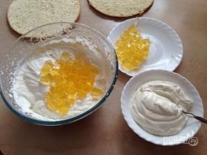 Бисквитный торт с лимонным вкусом - фото шаг 11