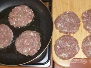Гамбургер - фото шаг 3