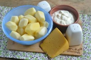 Картофель, запеченный в духовке под соусом - фото шаг 1