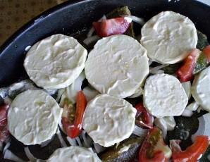 Камбала с овощами в духовке - фото шаг 7