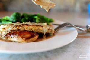 Курица с горчично-сливочным соусом - фото шаг 7
