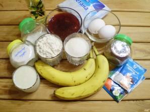 Банановый торт Обезьянка - фото шаг 1