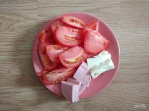 Макароны с помидорами и колбасой в мультиварке - фото шаг 4