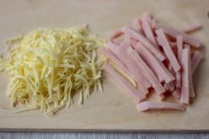 Паппарделле с ветчиной, сыром и зеленым горошком - фото шаг 3