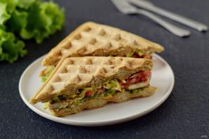 Вафельный сэндвич - фото шаг 11