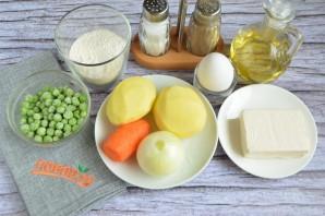 Суп с сырными рулетиками - фото шаг 2