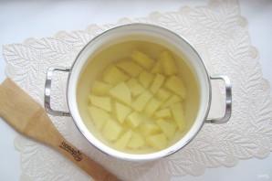 Рисовый суп с колбасой - фото шаг 2