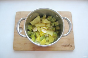 Диетический суп-пюре из кабачков - фото шаг 7
