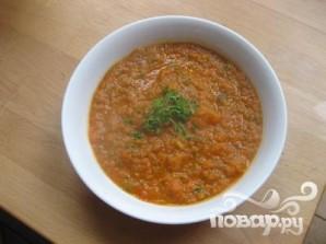 Суп с помидорами, кабачками и луком - фото шаг 7