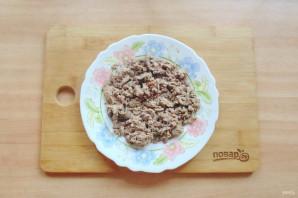 Салат с куриной печенью и маринованными огурцами - фото шаг 4
