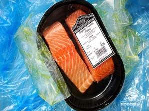 Стейк из лосося - фото шаг 1
