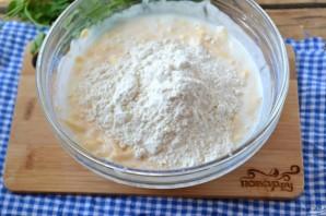 Сырные лепешки на кефире - фото шаг 3