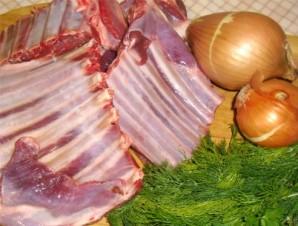 Ребрышки барбекю на мангале - фото шаг 1