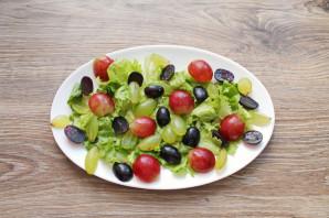 """Салат """"Дор блю"""" с виноградом - фото шаг 3"""