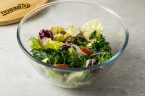 Салат из авокадо с грушей и сыром - фото шаг 6