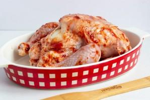 Курица, запеченная с аджикой - фото шаг 3