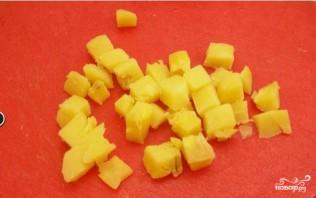 Салат из корейской моркови с грибами - фото шаг 2