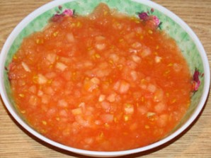 Подлива из помидоров к макаронам - фото шаг 2