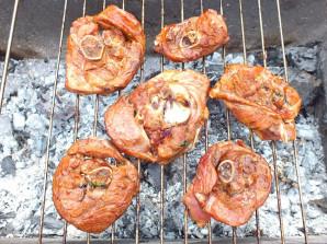 Шашлык из индейки в соевом соусе - фото шаг 5