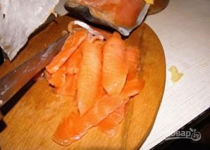 Рулетики из рыбы - фото шаг 1
