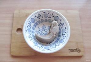 Салат из языка с баклажанами - фото шаг 3