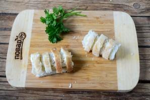 Сосиски в хлебе для тостов - фото шаг 4
