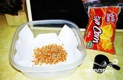 Попкорн в микроволновке - фото шаг 2