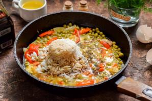 Жареный рис по-китайски - фото шаг 6