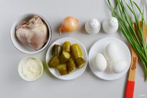 Салат с сердцем свиным - фото шаг 1