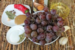 Маринованный виноград с горчицей - фото шаг 1
