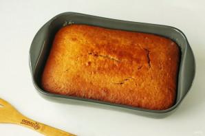 Постный пирог с яблочным пюре - фото шаг 7