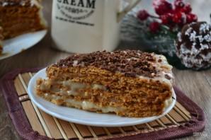 Быстрый торт с заварным кремом - фото шаг 6