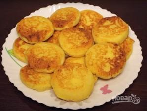 Сырники с адыгейским сыром - фото шаг 8