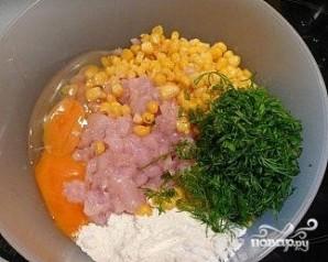 Котлеты с кукурузой - фото шаг 5