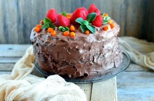 Великолепный шоколадный пирог - фото шаг 11