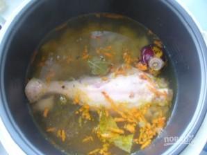 Куриный суп (мультиварка) - фото шаг 2