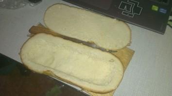 Мужской бутерброд - фото шаг 1