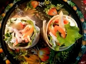 Салат в лаваше с курицей - фото шаг 6
