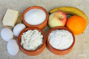 Бисквитное фруктовое пирожное - фото шаг 1