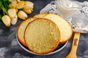 Банановый торт с карамелью