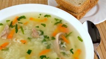 Суп на курином бульоне - фото шаг 5