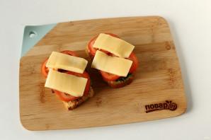 Сэндвич с котлетой - фото шаг 8