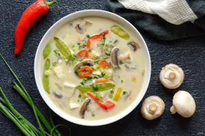 Тайский кокосовый суп - фото шаг 6