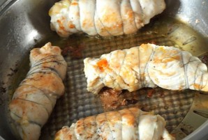 Курица с плавленым сыром - фото шаг 5